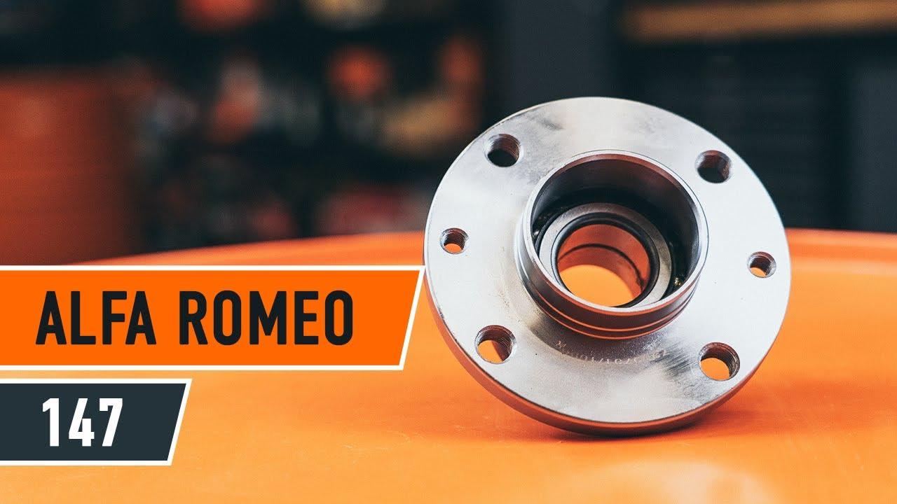 Alfa Romeo Mito >> How to replace a Rear wheel bearing on ALFA ROMEO 147 TUTORIAL | AUTODOC - YouTube