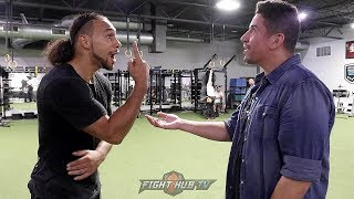KEITH THURMAN IN DEPTH ON PACQUIAO'S STYLE, STRATEGY FOR FIGHT & WHY HE GAVE MANNY T-REX ARMS NAME