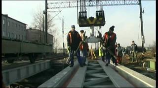 Tines - remont wiaduktu kolejowego Katowice - Szopienice - system szyny w otulinie ERS