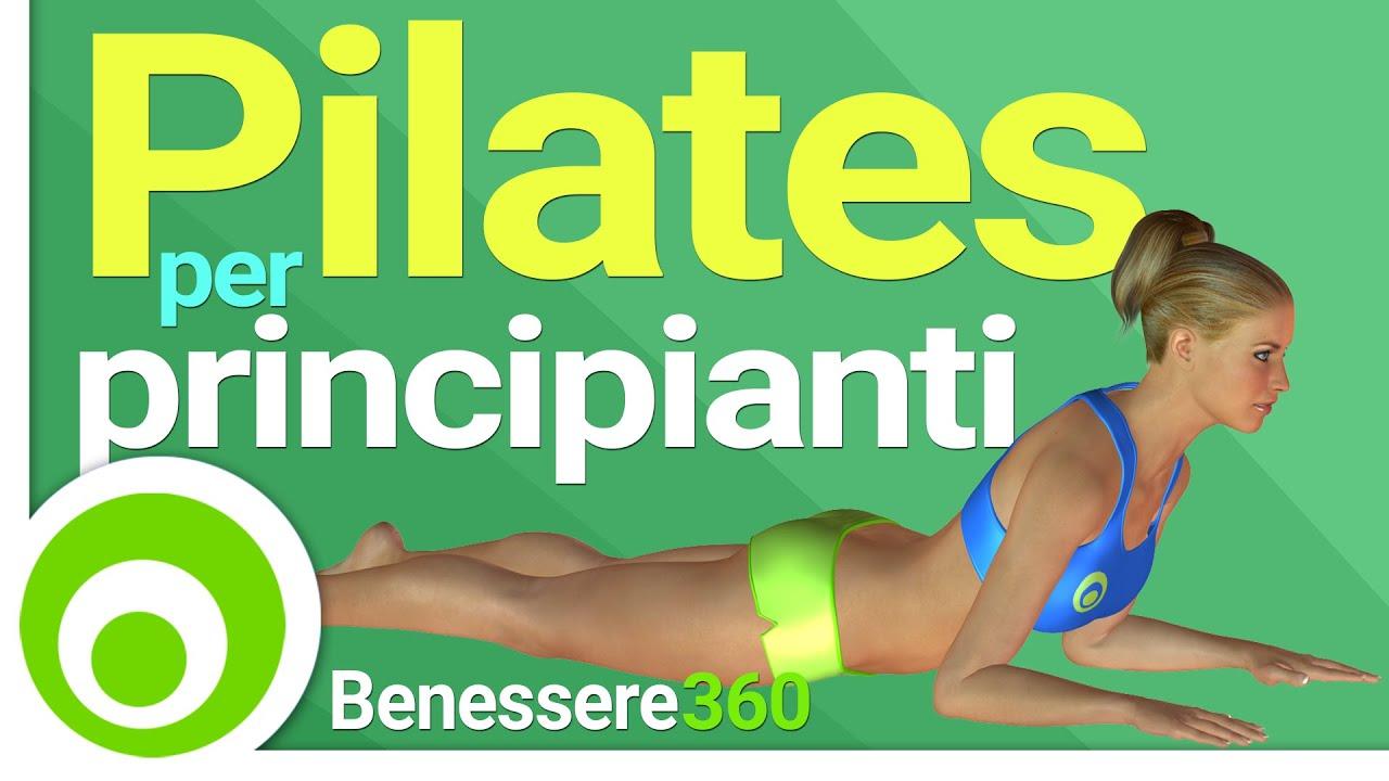 Pilates esercizi base a casa lezione completa in for Dimagrire interno coscia benessere 360