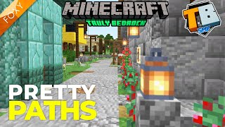 Pretty Paths | Truly Bedrock Season 1 [114] | Minecraft Bedrock Edition 1.14 SMP