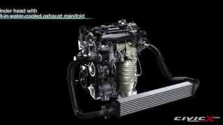 2016 Honda Civic 1.5L Turbo Engine Presentation