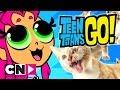 Teen Titans Go! | Turning Into Animals | Cartoon Network