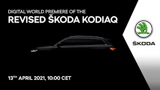 World Premiere: ŠKODA KODIAQ 2021. Watch here now!
