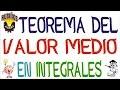 teorema del valor medio en las integrales definidas