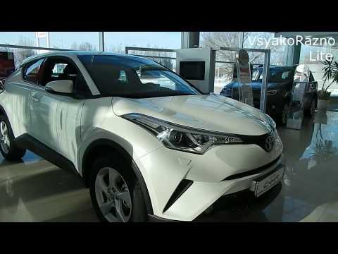 Toyota C-HR 2.0 л 148 л.с CVT 2WD Hot обзор