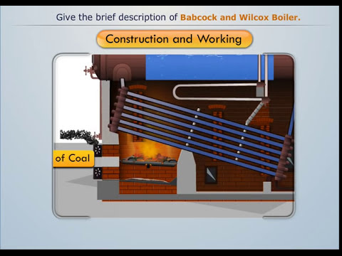 Construction & Working of Babcock and Wilcox Boilers - Magic Marks
