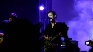 Hoobastank - Unaffected (live) @ Lisbon 31-07-2011