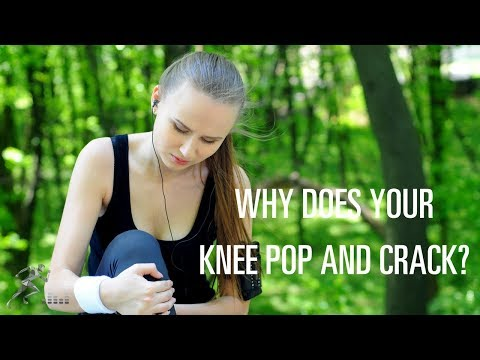 Why does my knee pop and crack?