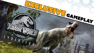 35 Minutes of EXCLUSIVE Jurassic World Evolution GAMEPLAY! Details! Impressions!