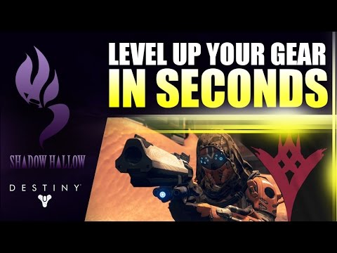 Fastest way to upgrade your weapons armor in taken king destiny