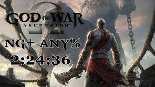 GOD OF WAR ASCENSION - SPEEDRUN NG+ ANY% EM 2:24:36