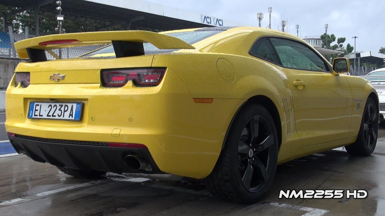 Chevrolet Camaro Ss Transformers Edition Starts Ride And