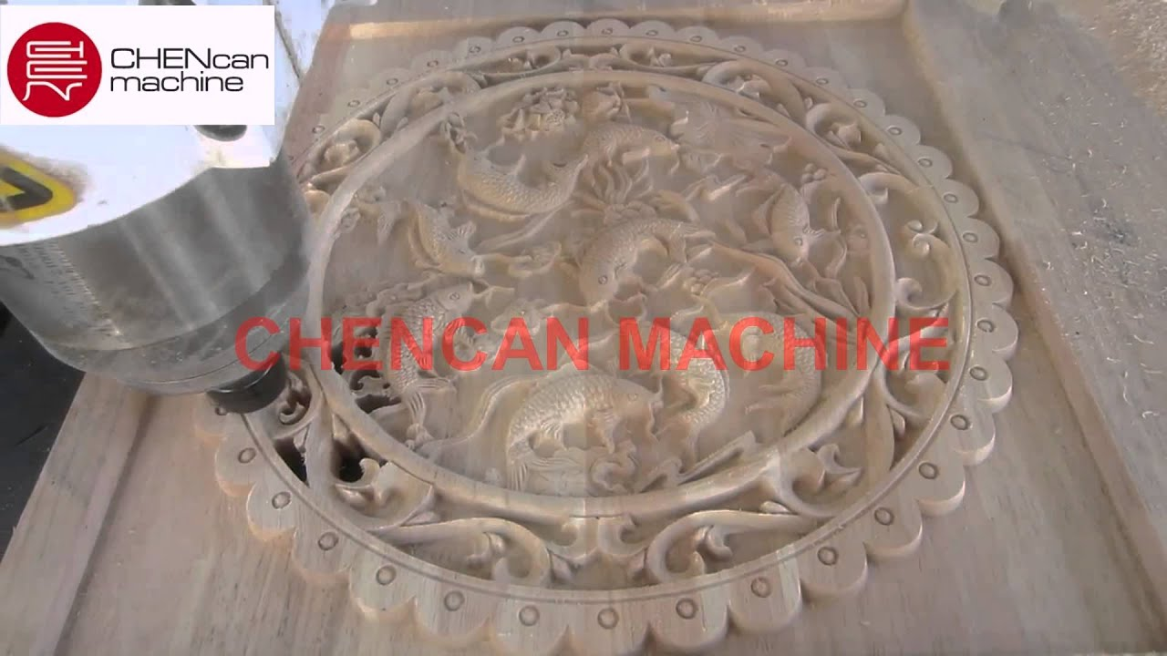 Cnc router for d relief carving youtube