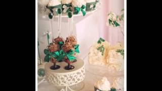 Сладкий стол  Изумрудная свадьба