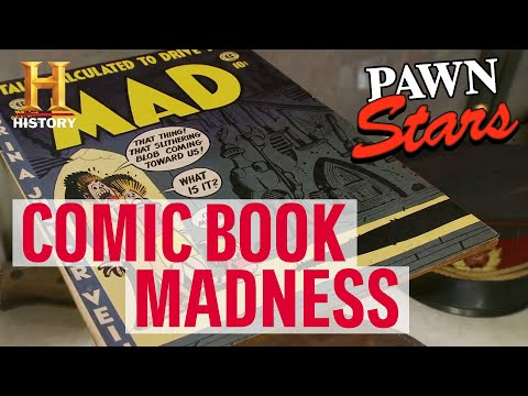 Pawn Stars: TOP COMIC BOOKS OF ALL TIME | History