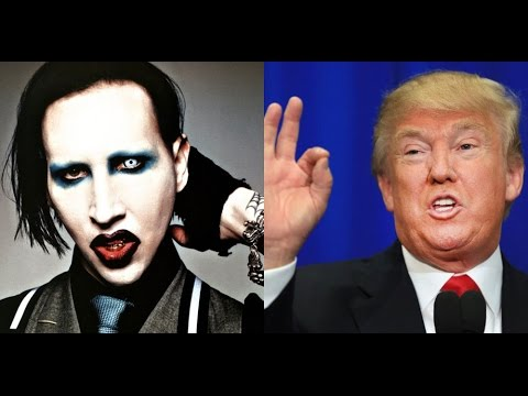 "Donald Trump Sings Marilyn Manson's ""Irresponsible Hate Anthem"" 