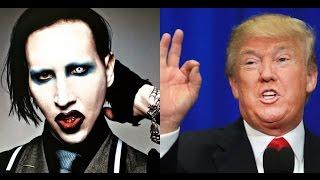 "Donald Trump Sings Marilyn Manson's ""Irresponsible Hate Anthem"" | MetalSucks"