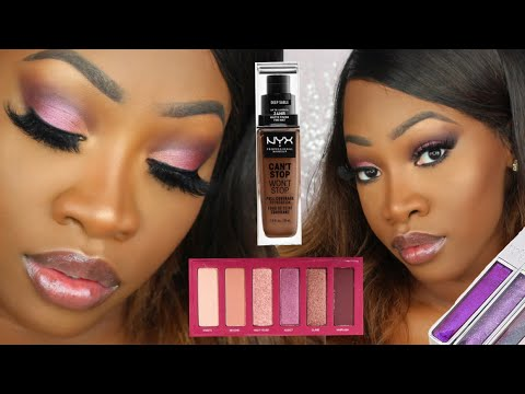 NYX CAN'T STOP WON'T STOP FOUNDATION & URBAN DECAY APHRODISIAC Review + Try-On | Maya Galore
