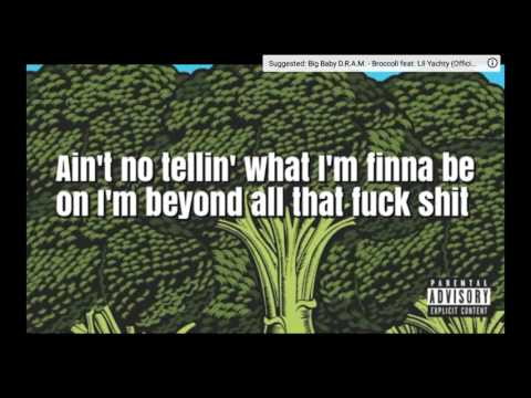 Broccoli (Lyrics) Lil Yachy (Explit Version)