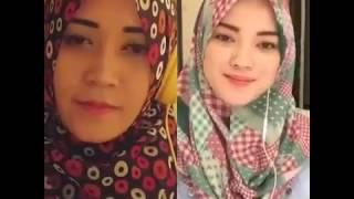 Dua cewek hijab cantik suara emas cover lagu bidadari syurga, subhanallah! Mp3