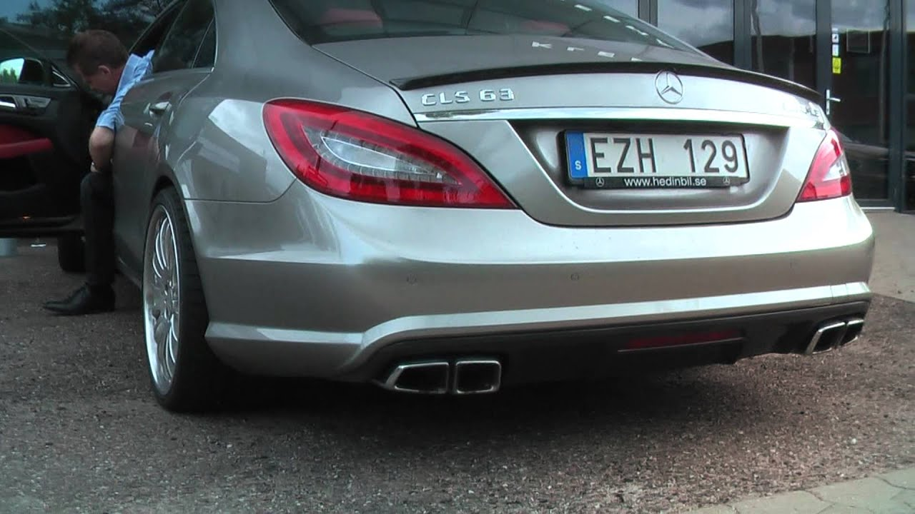Mercedes Cls63 Amg W Catless Downpipes Exhaust Sound
