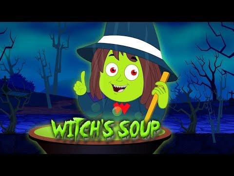 bruxas sopa  o dia das bruxas música  crianças músicas  Witches Soup  Halloween Songs For Kids