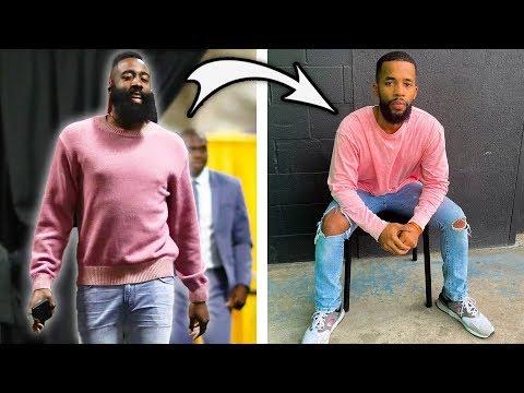 RegularPeople Dress Like NBA Players For A Week
