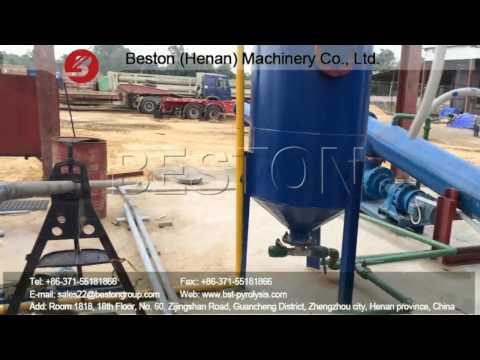 Crude Oil Sludge Pyrolysis Recycling Plant in Nigeria - Beston Machinery