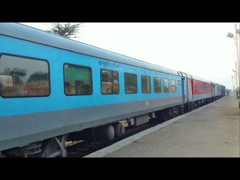 NWR Journey on board Jaipur - Jodhpur LHB SF Intercity (JP to KMNC), Rajasthan