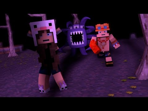 Minecraft: MAPA DE TERROR! - ESTAMOS COM MEDO! ft. Ace