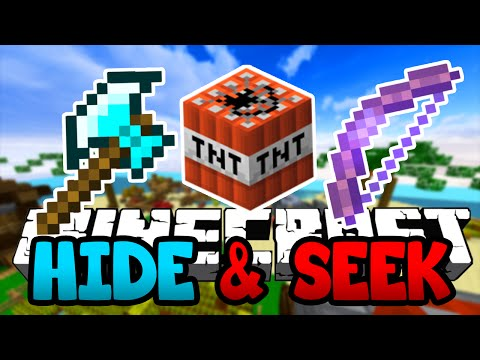 Minecraft - HIDE AND SEEK, The Diamond Axe Murder Rampage!