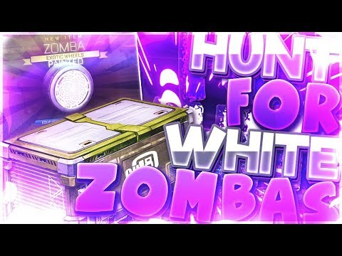 TRYING TO GET A $400 ITEM   Hunt For Striker White Zomba (Rocket League CC4 Crate Opening)