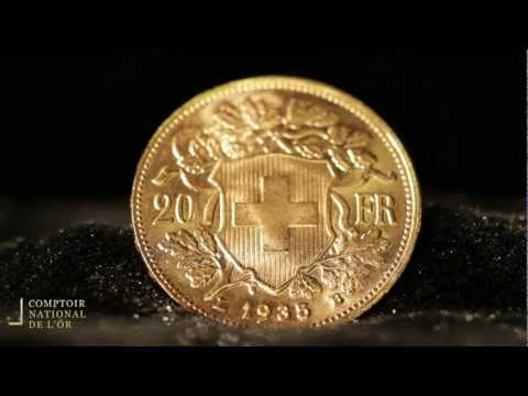 Pièce de 20 Francs Suisses en Or - Comptoir National de l'Or (Gold.fr)