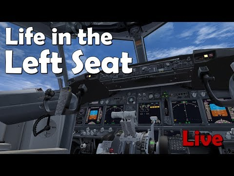 Life in the Left Seat KABQ - KLAS (Albuquerque to Las Vegas) Featuring FMS Tutorial on 737NGX