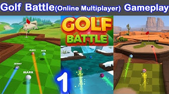 Golf Battle(online multiplayer) Game-play | Walk-through (IOS, Android) | MG Games