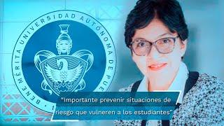 La rectora electa de la Benemérita Universidad Autónoma de Puebla (BUAP), Lilia Cedillo, anunció que los primeros diez días de su gestión serán clave y, por ello, pondrá en marcha el Plan de Rescate Post Pandemia.  www.eluniversalpuebla.com.mx