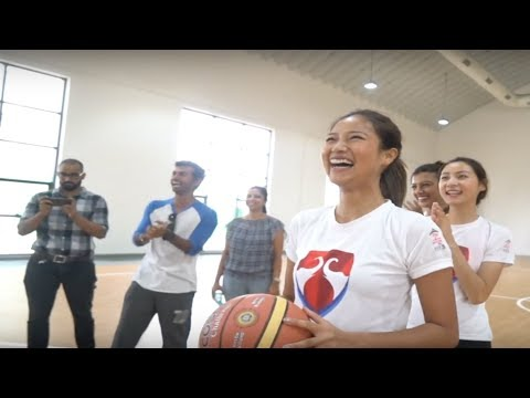 Miss India 2018 finalists at Bennett University: Basketball Challenge