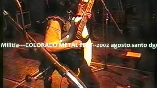 COLORADO METAL FEST....VULCANO.....9 Y 10 AGOSTO 2002