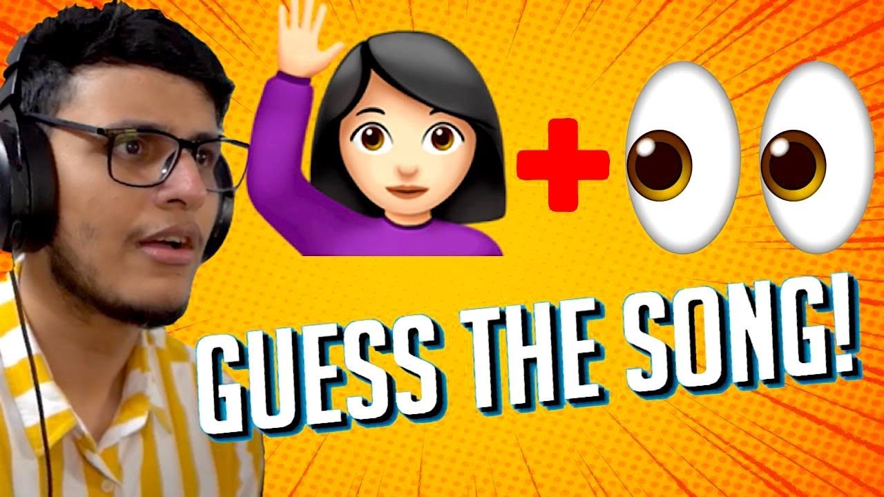 Guess The Song by Emojis Challenge