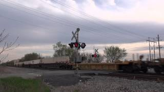 Railroad Crossings of the CN Chicago Sub Part 1