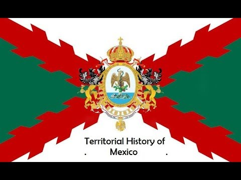 The Territorial Evolution of Mexico-Every Year
