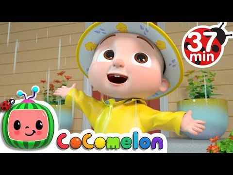 Yes Yes Dress For The Rain  + More Nursery Rhymes & Kids Songs - CoComelon - Видео онлайн