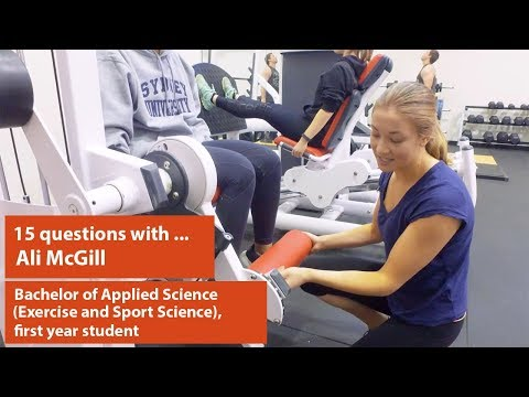 15 Questions With... Ali McGill, Exercise And Sports Science Student