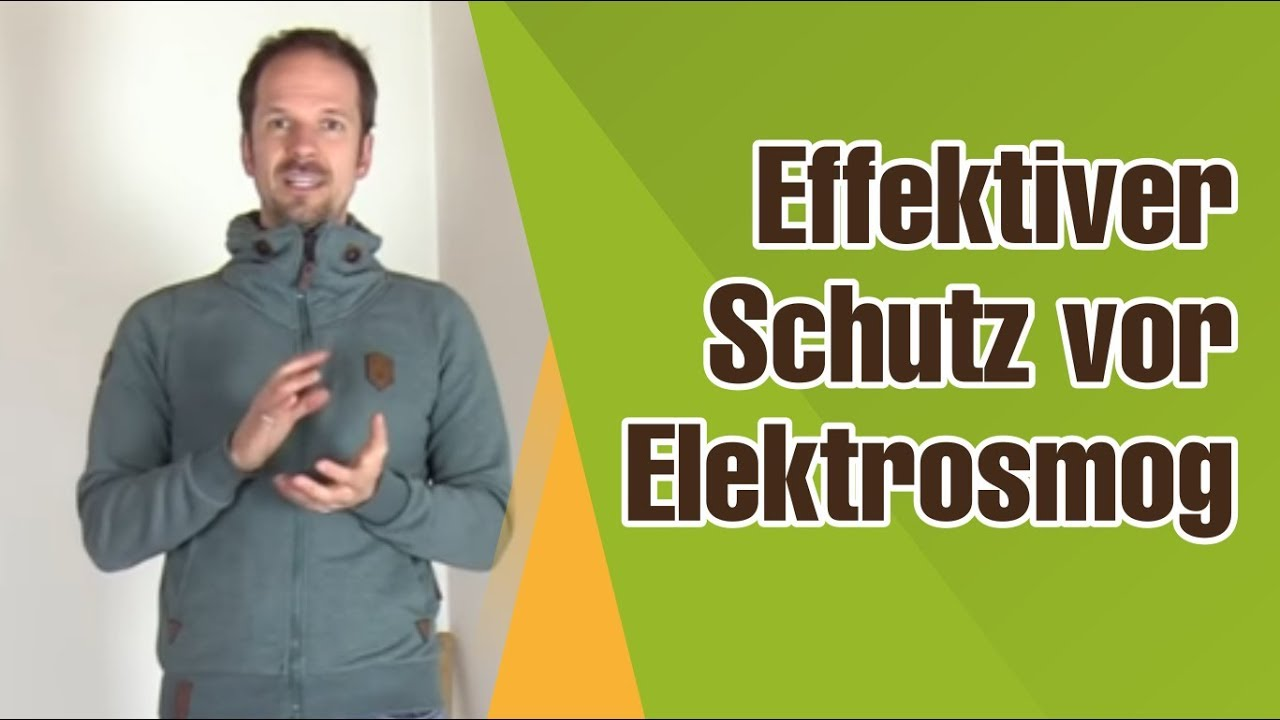 Schutz Vor Elektrosmog Handystrahlen Abschirmen Und