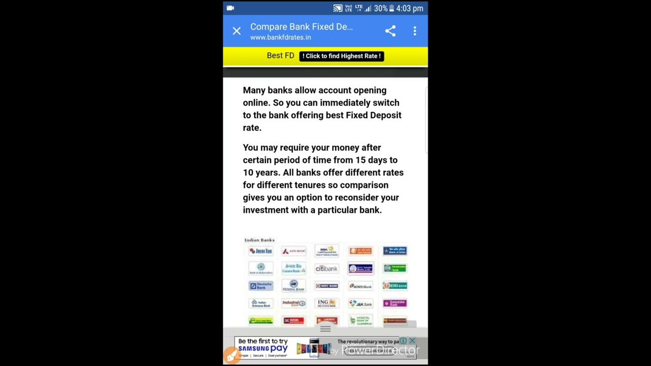 Which Bank Give You Best Interest On Your Fixed Deposit 2019
