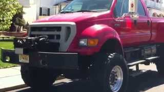 Ford F-750 pick up truck!