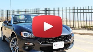 2017 Fiat 124 Spider: An Italian Miata  With a Turbocharger, What's Not to Love?