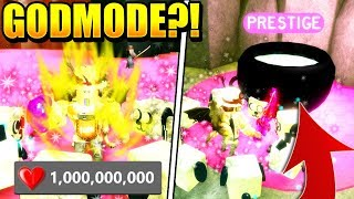 GODMODE AND PRESTIGE PETS IN SLAYING SIMULATOR UPDATE! Roblox