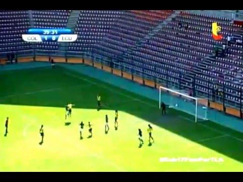 Colombia vs Ecuador Sudamericano Femenino sub - 17 (2016)